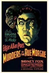 Murders In the Rue Morgue movie poster [Bela Lugosi] 11'' X 17''