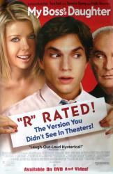 """My Boss's Daughter movie poster [Ashton Kutcher, Tara Reid] 26x40 """"R"""""""
