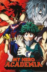 My Hero Academia poster (22x34) anime series