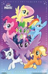 My Little Pony: The Movie poster (22x34) animated