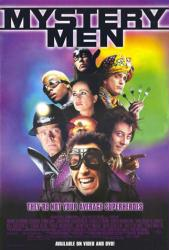 Mystery Men movie poster /Ben Stiller/Janeane Garofalo/William H Macy