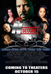 N-Secure movie poster [Tempestt Bledsoe/Cordell Moore/Essence Atkins]