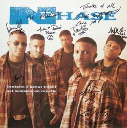 N-Phase poster: Vintage LP/Album flat (Autographed)