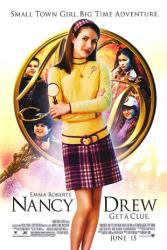 Nancy Drew movie poster (2007) [Emma Roberts] 27x40
