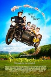 Nanny McPhee Returns movie poster [Emma Thompson] 27x40 VG