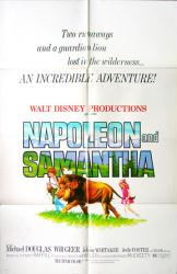 Napoleon and Samantha movie poster [Disney] original 27x41