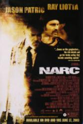 Narc movie poster [Jason Patric, Ray Liotta] 27x40 video version