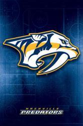 Nashville Predators logo poster [NHL] 22x34