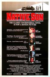 Native Son movie poster (1986) [Matt Dillon, Oprah Winfrey] 27x41