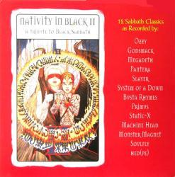Nativity In Black II: A Tribute to Black Sabbath poster - Album flat