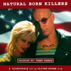 Natural Born Killers soundtrack poster: Vintage LP/Album flat