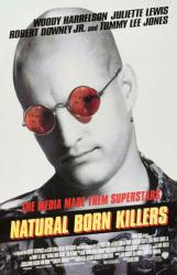 Natural Born Killers movie poster [Woody Harrelson] Oliver Stone 27x40