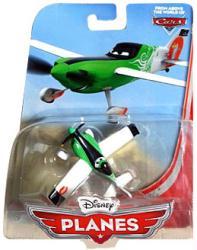 Planes: Ned 1:55 die-cast plane (Mattel/2013) Disney