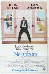 Neighbors movie poster [John Belushi, Dan Aykroyd] original 27x41