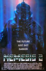 Nemesis 2: Nebula movie poster [an Albert Pyun film] video poster