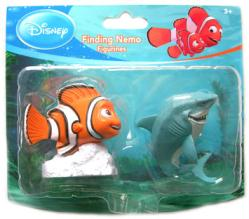 Finding Nemo [Disney/Pixar] Nemo & Bruce the Shark figurines
