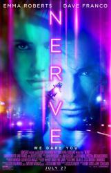 Nerve movie poster [Emma Roberts, Dave Franco] 27x40 original