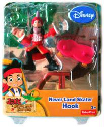 Jake and the Never Land Pirates: Never Land Skater Hook figure