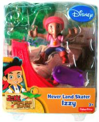 Jake and the Never Land Pirates: Never Land Skater Izzy figure