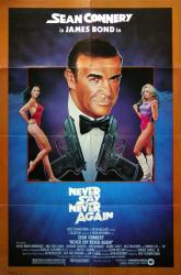 Never Say Never Again movie poster [Sean Connery] 27x41 original
