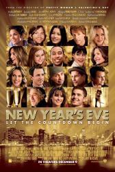 New Year's Eve movie poster [Halle Berry, Ashton Kutcher, Zac Efron]