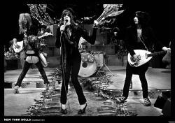 "New York Dolls poster: Hilversum 1973 (33"" X 23 1/2"")"