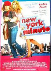 New York Minute movie poster [Mary-Kate & Ashley Olsen] 27x40