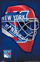 New York Rangers poster: Mask (NHL) 22x34