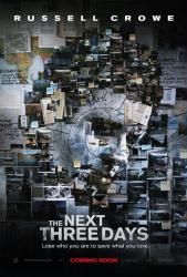The Next Three Days movie poster [Russell Crowe] 2010 advance
