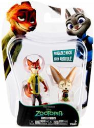 Zootopia: Nick & Finnick figures (Tomy) Disney