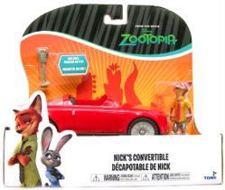 Zootopia: Nick's Convertible & Nick figure set (Tomy) Disney