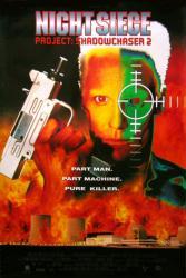 Night Siege: Project Shadowchaser 2 movie poster [Frank Zagarino]