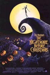 The Nightmare Before Christmas movie poster (27x39) Jack Skellington