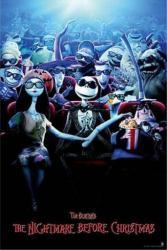 The Nightmare Before Christmas movie poster (24x36) For the 3D release