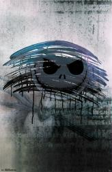 The Nightmare Before Christmas poster: Jack Skellington Mirror (22x34)