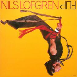 Nils Lofgren poster: Flip vintage LP/Album flat