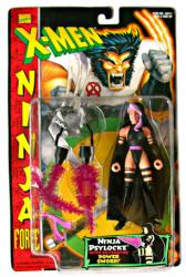 X-Men Ninja Force: Ninja Psylocke action figure (ToyBiz/1996)