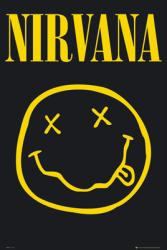Nirvana poster: Smiley (24x36 poster) New
