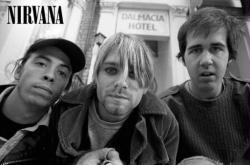 Nirvana poster: Dave, Kurt & Krist (36x24) B&W