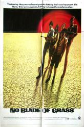 No Blade of Grass movie poster (1970) original 27x41 one-sheet