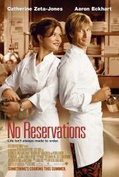 No Reservations poster [Catherine Zeta-Jones, Aaron Eckhart] 27x40