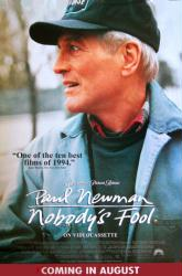 Nobody's Fool movie poster [Paul Newman] video poster