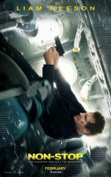 Non-Stop movie poster [Liam Neeson] original 27x40 advance