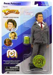 Cheers: Norm Peterson classic 8 inch action figure (MEGO/2018)