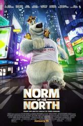 Norm of the North movie poster (2016 animated film) original 27x40