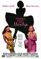Norma Jean and Marilyn movie poster [Ashley Judd, Mira Sorvino] 27x39