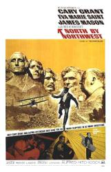 North By Northwest movie poster [Cary Grant, Alfred Hitchcock] 27x40