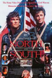 North and South movie poster [Patrick Swayze/James Read/Johnny Cash]