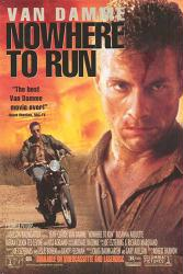 Nowhere To Run movie poster [Jean Claude Van Damme] video poster