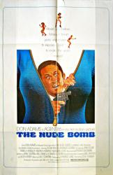 The Nude Bomb movie poster [Don Adams as Maxwell Smart] 27x41 original